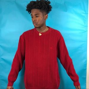 🔥Awesome red Vintage Chaps sweater size XL🔥